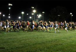 Cross Country Team shows great effort in the late night run